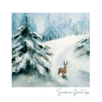 Winter lane - Christmas Card