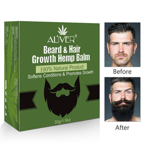 Men Organic Beard Hemp Oil Balm