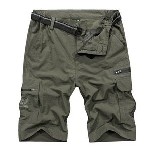 Outdoor Hiking Shorts Men Summer Quick Dry Waterproof Tactical Shorts Sports Shorts Fishing Trekking 4XL Plus Size