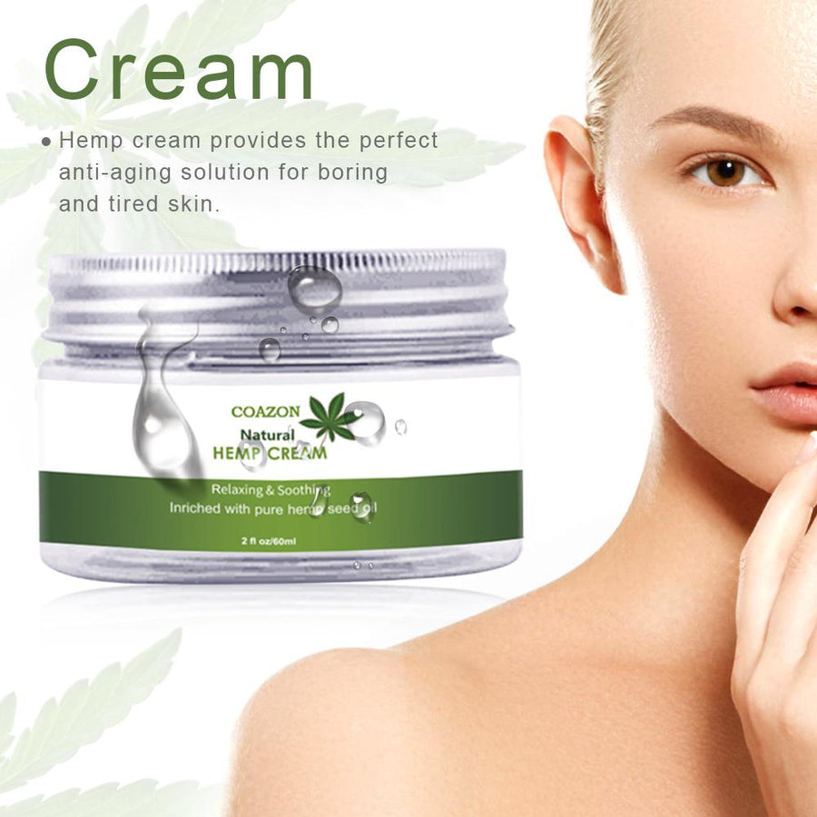 60ML Natural Hemp Face Cream