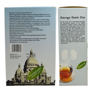 40 pcs/2 Packs Natural Kidney Enhancing Energy Tea Anti-fatigue Kidney energy supplement vitality vital Health Care drink Tea
