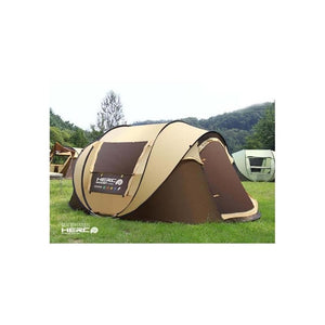 2017 new super automatic 5-6 people Korean brand building Free Account camping tent