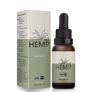 3000mg Organic Essential Oils Hemp Seed Oil