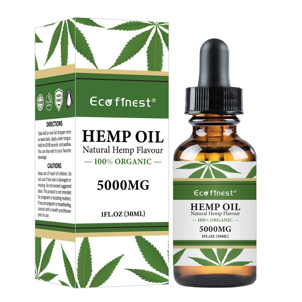 Natural Essential Hemp Seed Oil
