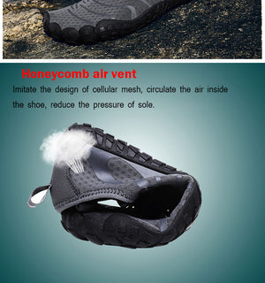 Multifunction Men Hiking Shoes Non-slip Wear Air Sneakers Trekking Climbing Shoes Men Quick-dry Fivefingers Couple Water Shoes