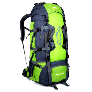 80L Specialized Campling Hiking Rucksack Outdoor Utility Climbing Trekking Backpack Detachable Carring System Travel Bag