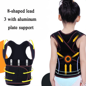 Children Back Belt Kids Posture Corrector Humpback Correction Shoulder Spine Back Support Belt Corset For Girl Boy Students