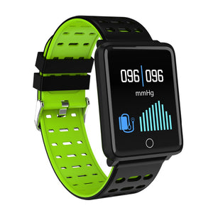 F3 Smart Watch Blood Pressure LED Touch Screen Waterproof Heart Rate Monitor Exercise Heart rate Bracelet for iOS Android