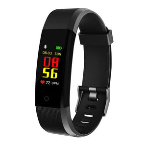 NEW Womens 115Plus 0.96 inch Smart Bracelet Sport Smart Watch Blood Pressure Exercise Dynamic Heart Rate Monitoring Step Count