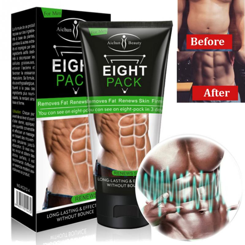Slimming Cream For Men Body Anti-Cellulite Massager Weight Loss Cream Fat Burn Muscle Belly Tighten Muscles Slimming Supplements