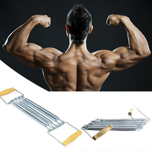 Portable Indoor Sports Supply Chest Expander Arm Exercise Fitness Resistance Spring Tube Yoga 5 Resistance Band