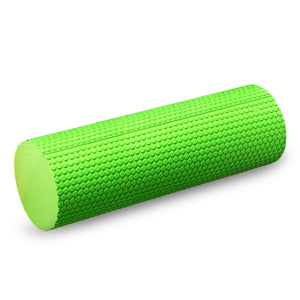 18x6IN Exercise Yoga Foam Roller High-density EVA Muscle Roller Self Massage Tool for Gym Pilates Yoga Fitness Gym Equipment