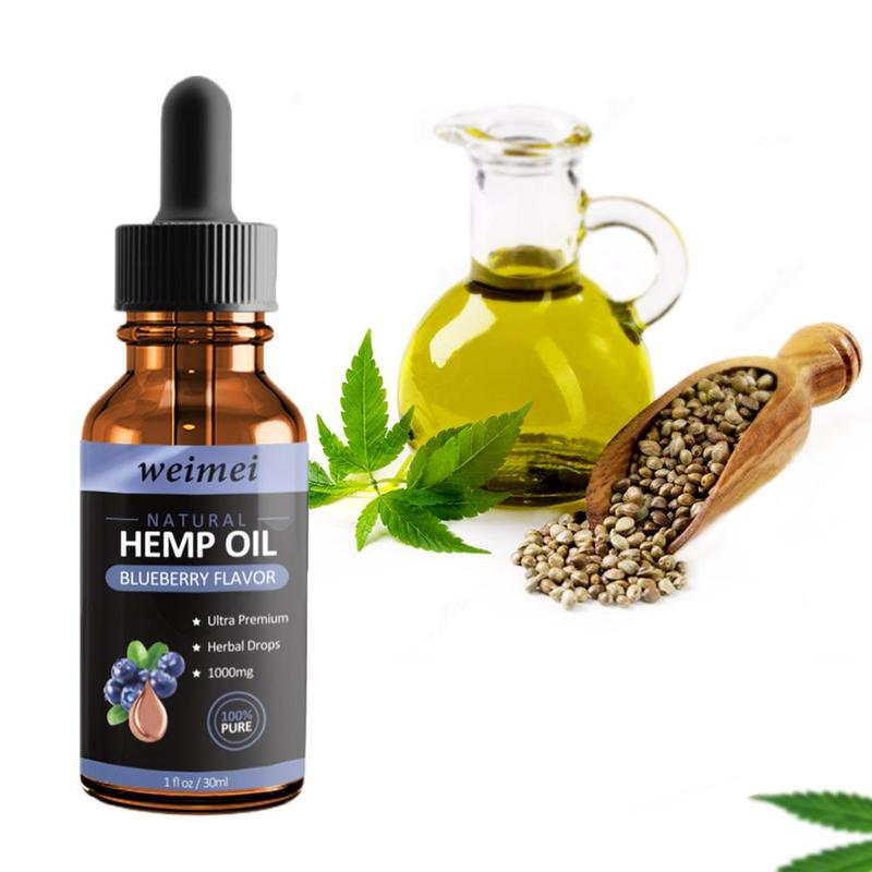 Blueberry Hemp Oil