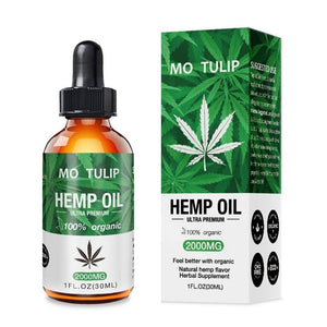 Natural Relaxing Hemp Oil