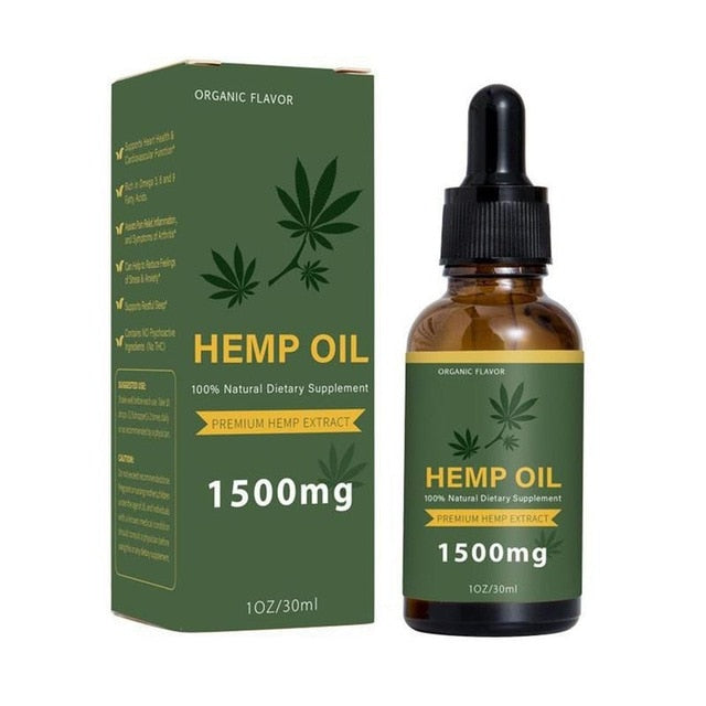 Massage Hemp Oil