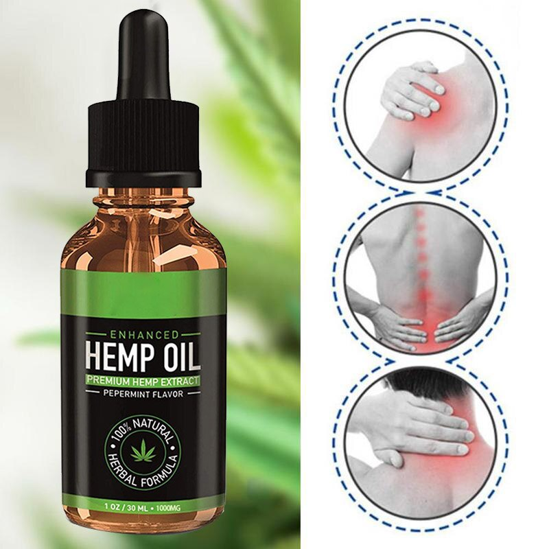 100% Organic Essential Oil Hemp Seed Oil