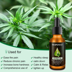 30ml Natural Hemp Oil for Pain Relief and Sleep Aid