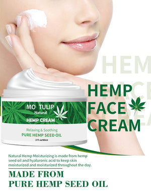 Hemp Oil Essence Face Moisturizing Cream