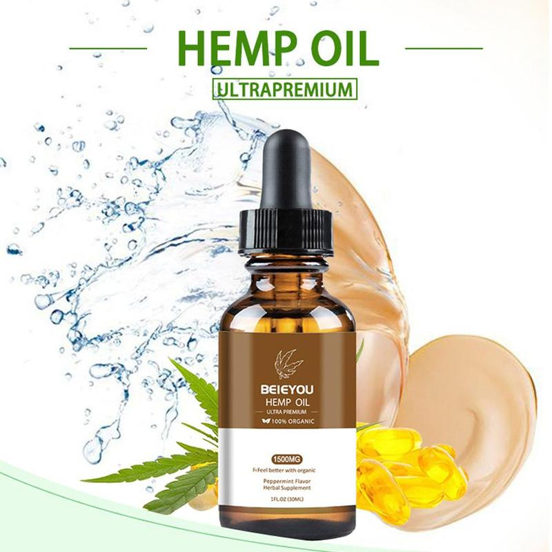 Pure Organic Hemp Essential Oil