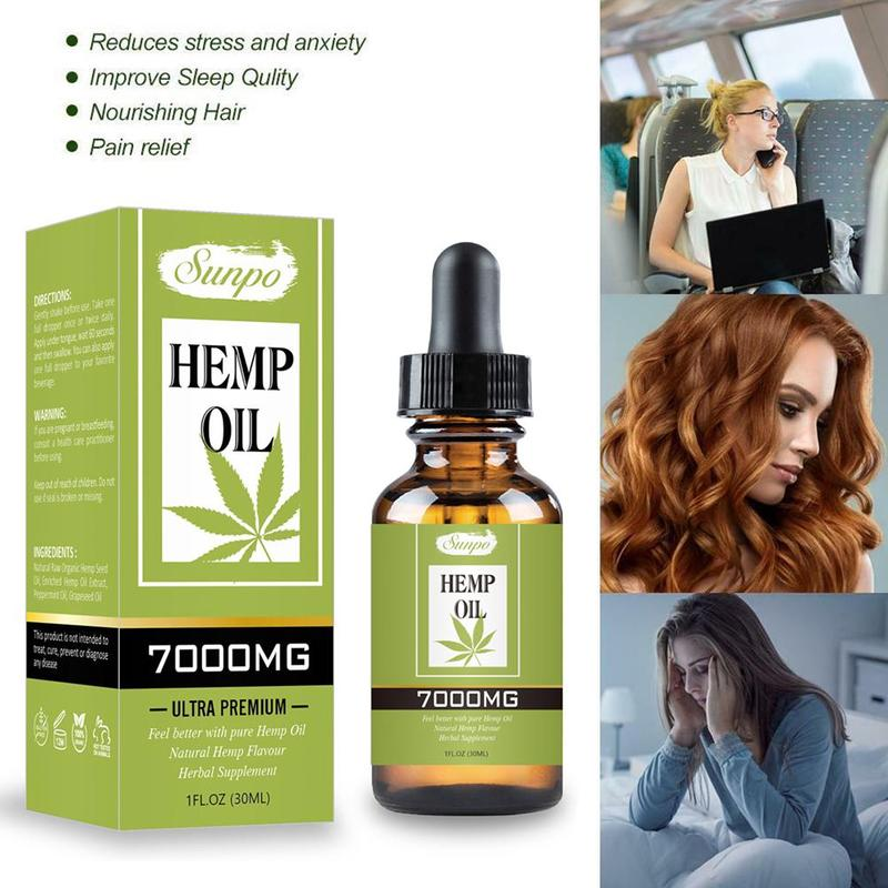 30ml Organic Hemp CBD Seed Oil
