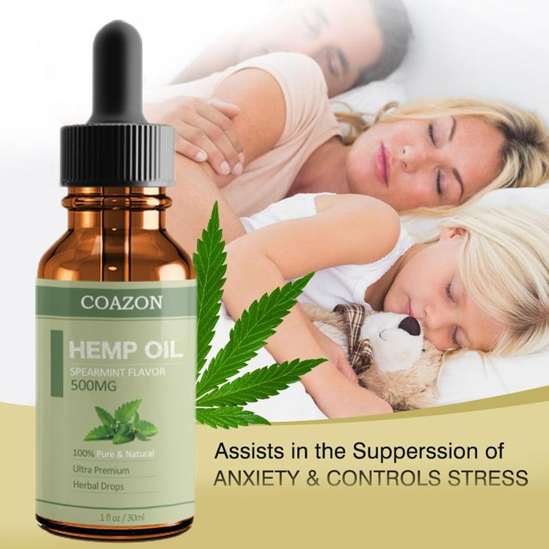 Anti-inflammatory Hemp Oil