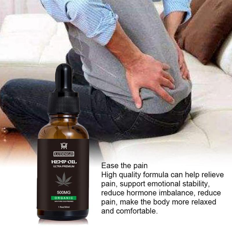 Organic Hemp Oil For Pain Relief