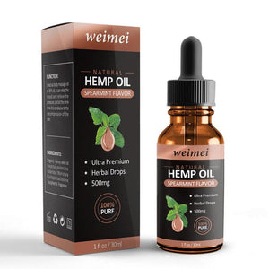 Spearmint Organic Hemp Oil