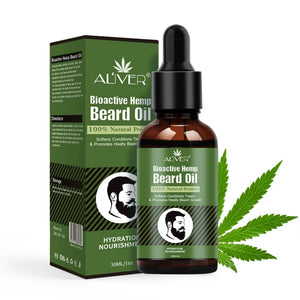 30ml Men Beard Growth Hemp Oil