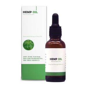 100% Natural Hemp Drops