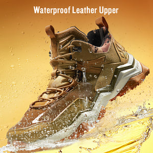 Waterproof Hiking Shoes Women Climbing Backpacking Trekking Boots Men Outdoor Shoes Anti-slip Mountain Sneakers Men