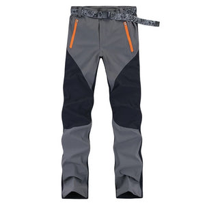 RAY GRACE Hiking Pants Men Summer Waterproof Outdoor Stretch Quick Dry Pants Trekking Fishing Trousers Hunting Climbing Mountain