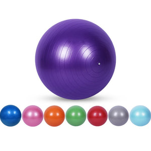 25cm/45cm/55cm/65cm/75cm Smooth type  Yoga Balls Pilates Fitness Gym Balance Fitball Exercise Workout Fitness balls