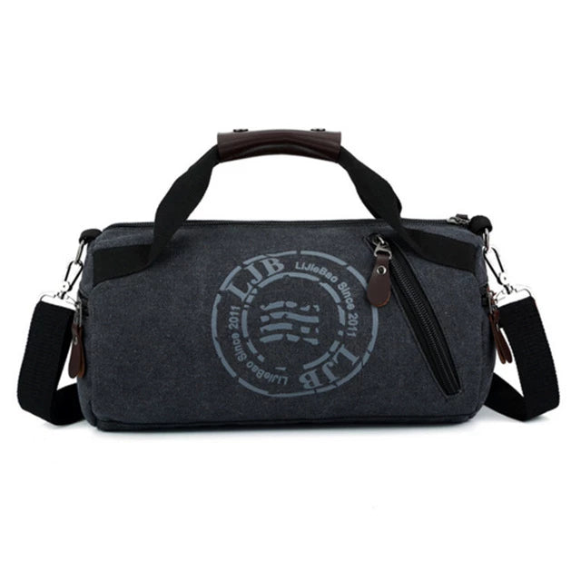 Multifunction Handbag Men Canvas Sport Bag Training Gym Bag Women Fitness Bags Outdoor Sports Bag Male Female  pouch rucksack