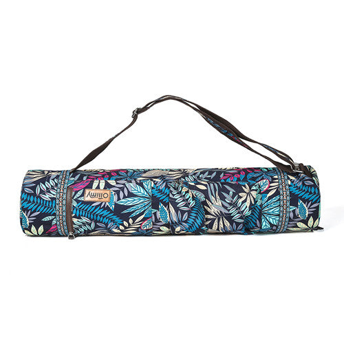 Printed Yoga Mat Bag Gym Mat Case For Men Pilates Exercise Pad Easy Carry Yoga Backpack Dance Sports Yoga Bags