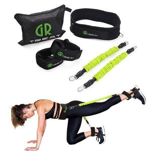 Power Guidance Booty Band Resistance Band Exercise Belt For Jump Training  Workout Leg Tennis Fitness Exercise Bouncing trainer