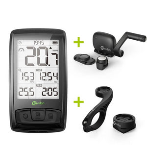 Wireless Bicycle Speedometer Meilan M4 Bike Tachometer Heart Rate Monitor cadence Speed Sensor Waterproof Stopwatch