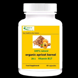 Maximum Strength Vitamin B17 Supplement, Apricot Kernel Extract ,Reduce blood sugar and lipids - Additive Free