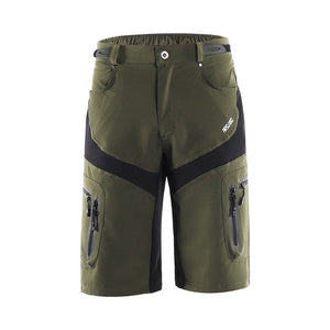 Tactical Shorts Outdoor Sports Hiking Shorts with Zipper Pocket Breathable Sweat Cycling Mountain Bike MTB Shorts