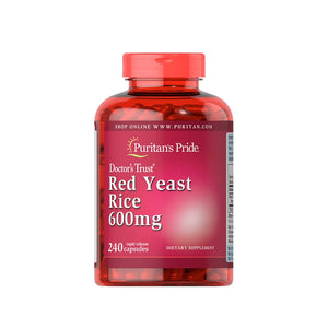 Red Yeast rice 600 mg 240 pcs