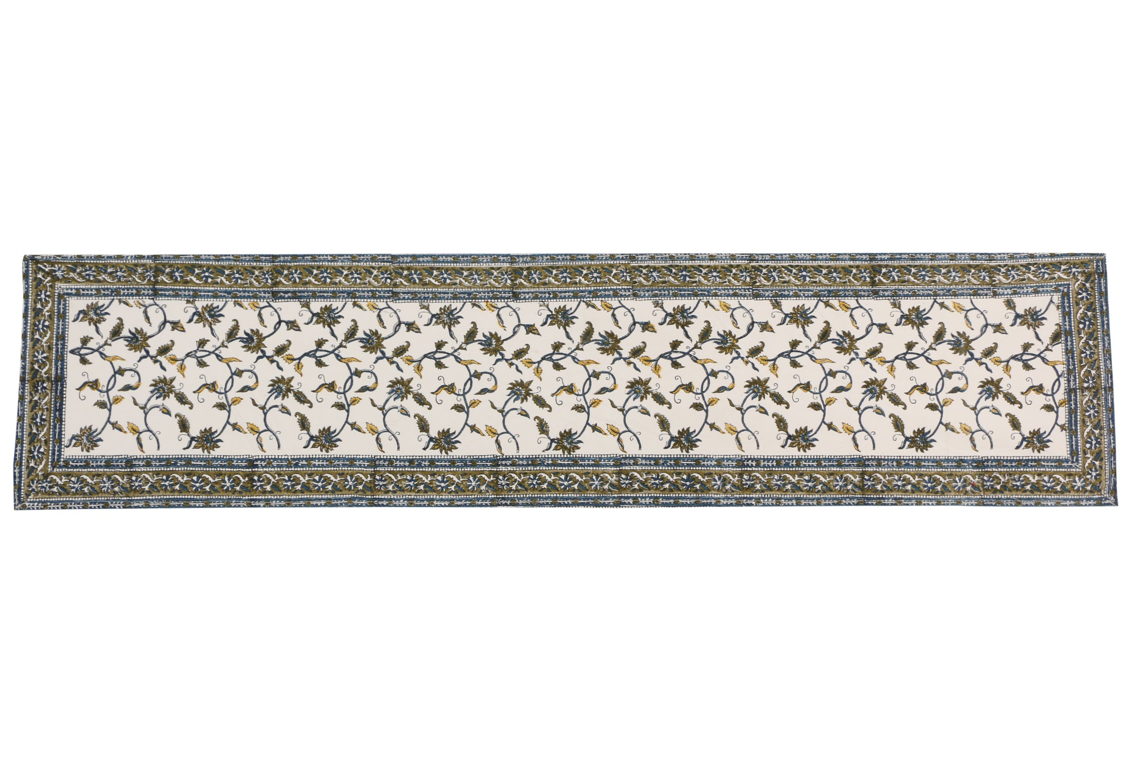 Cotton Floral & Paisley Table Runner - 13 x 54 - SNYTRV8