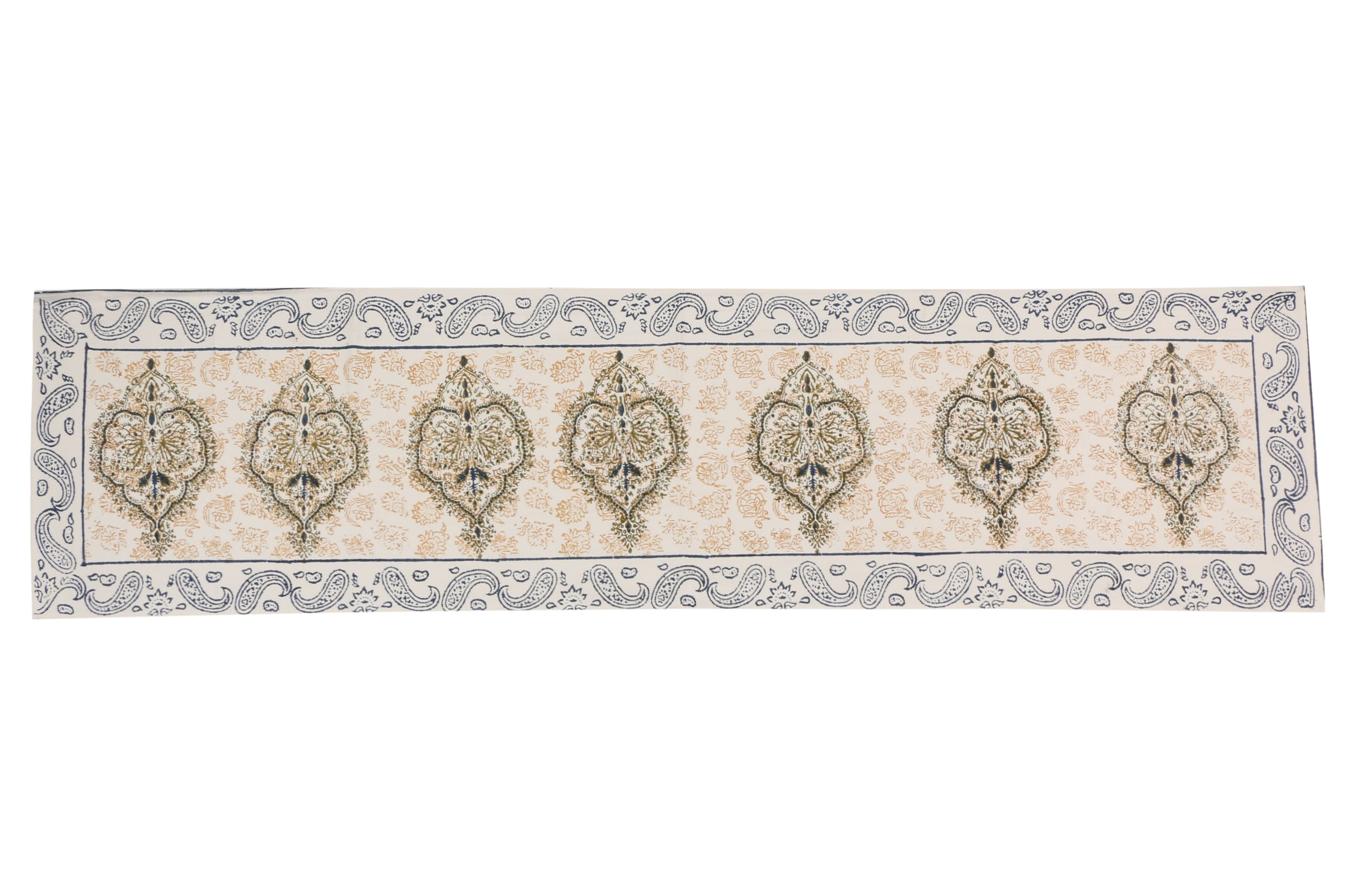 Cotton Floral & Paisley Table Runner - 13 x 54 - SNYTRV6