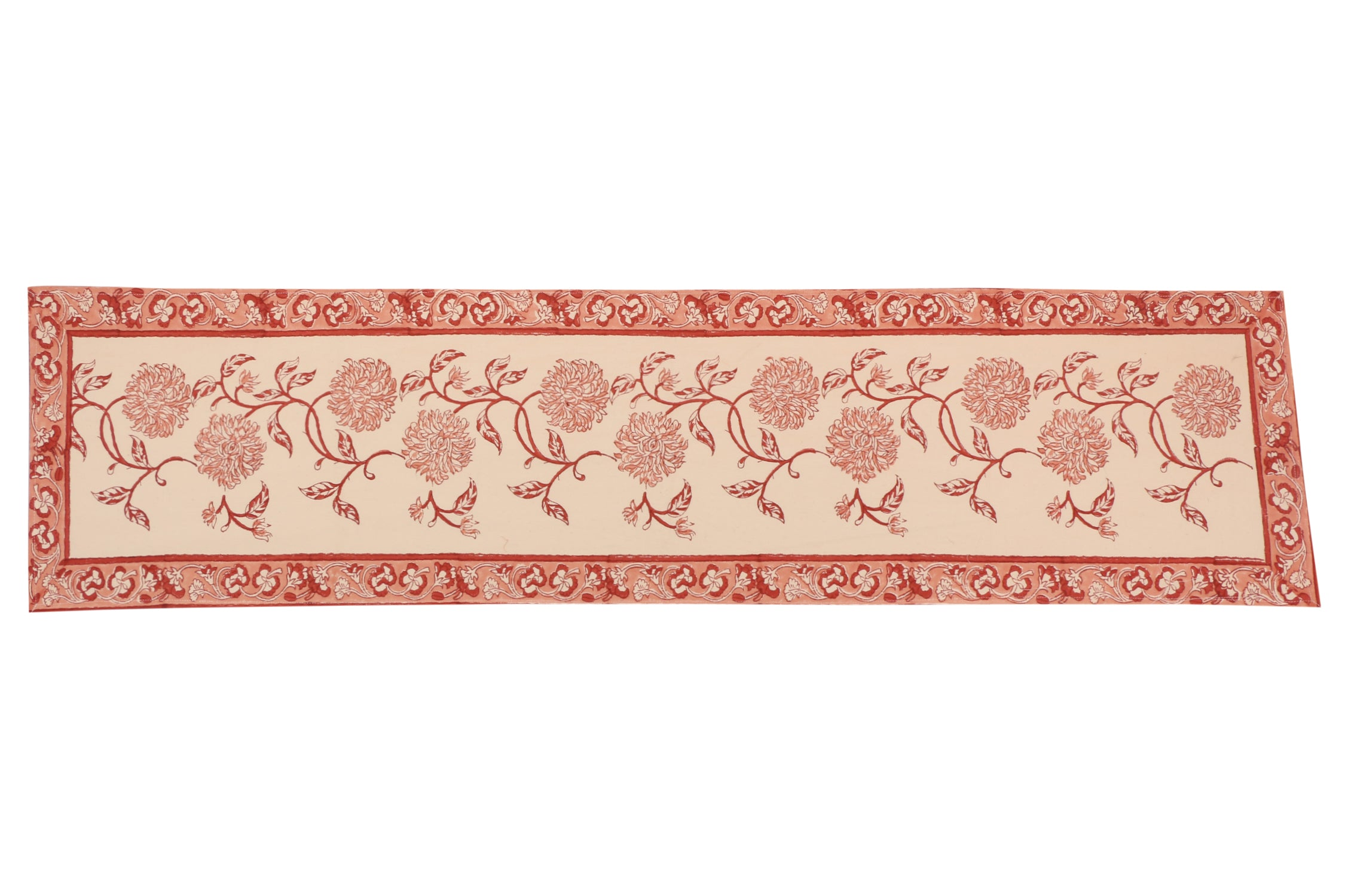 Cotton Floral & Paisley Table Runner - 13 x 54 - SNYTRV10