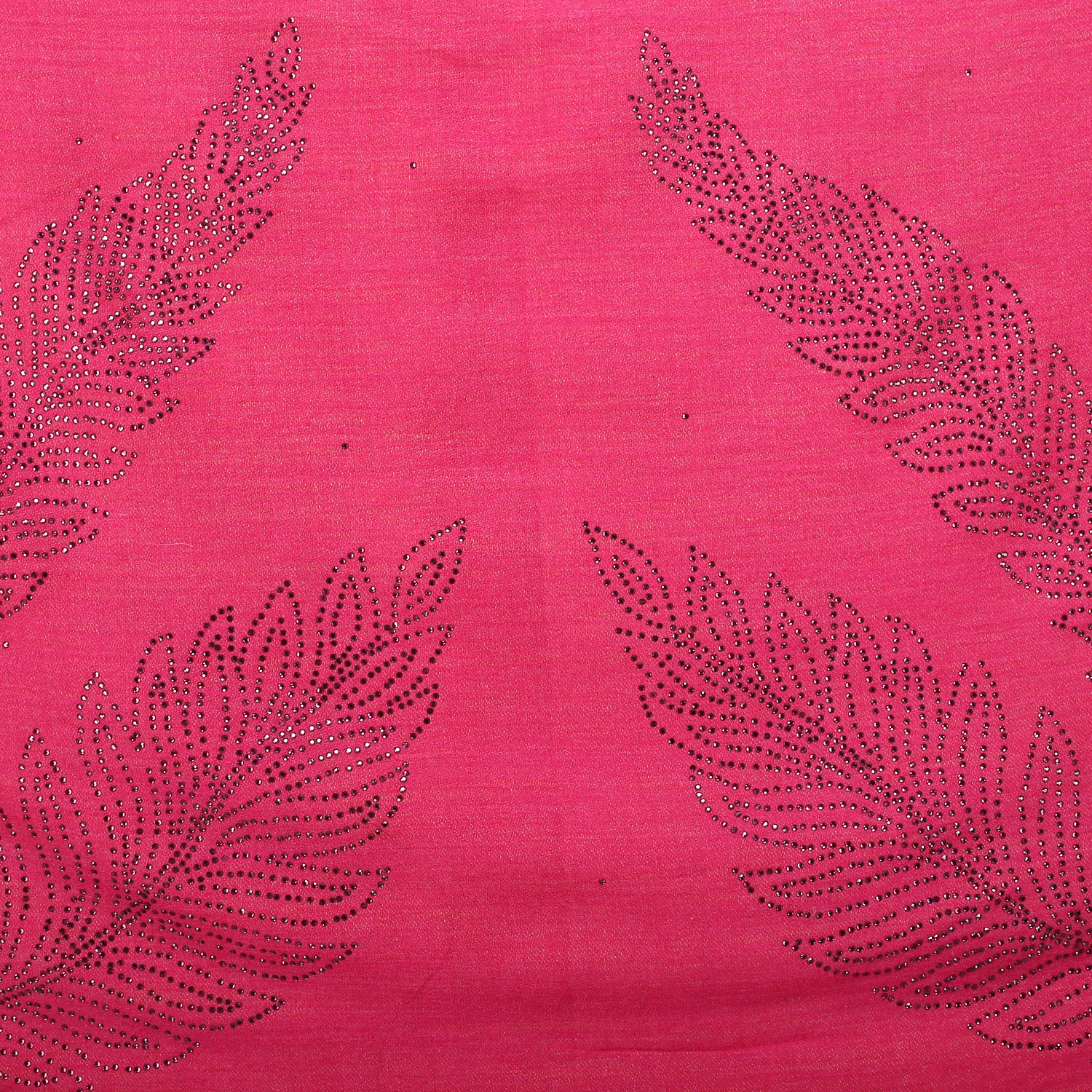 Crystal Leaves Fine Wool Stole