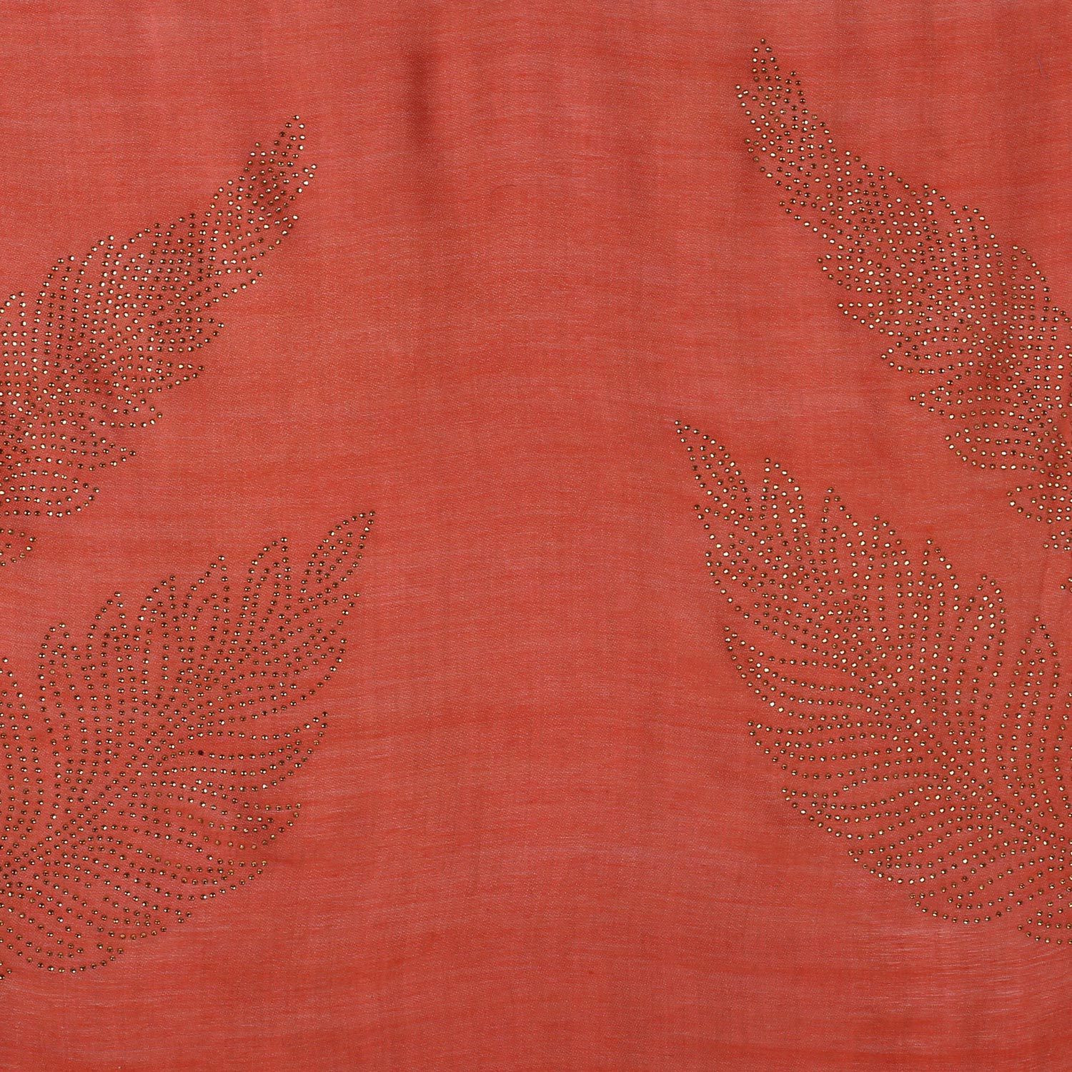 Crystal Leaves Pure Wool Stole