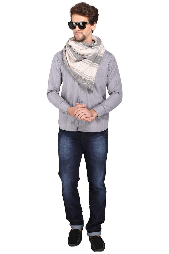 Men's Fine Wool Scarf - 3