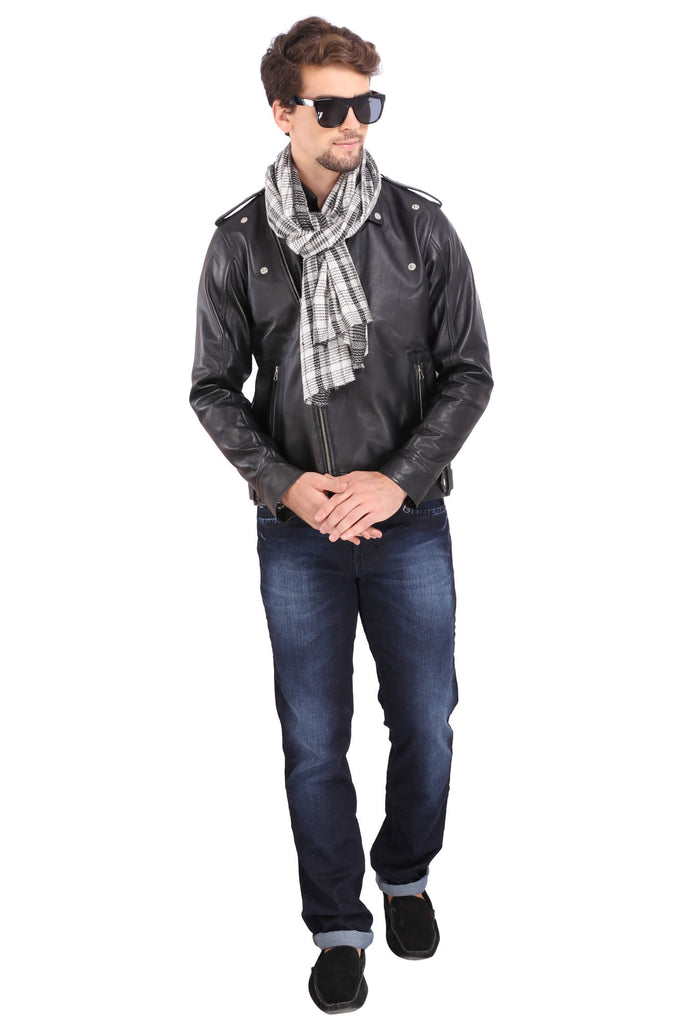 Men's Fine Wool Scarf - 2