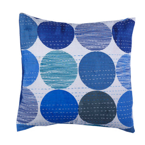 Abstract Kantha Cushion Cover - 2