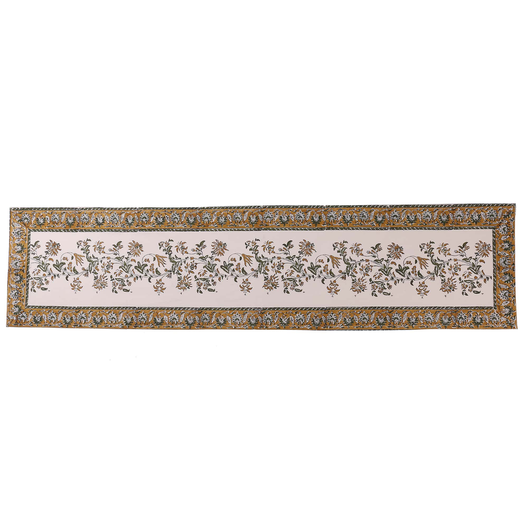 Jaipuri Cotton Table Runner - 6