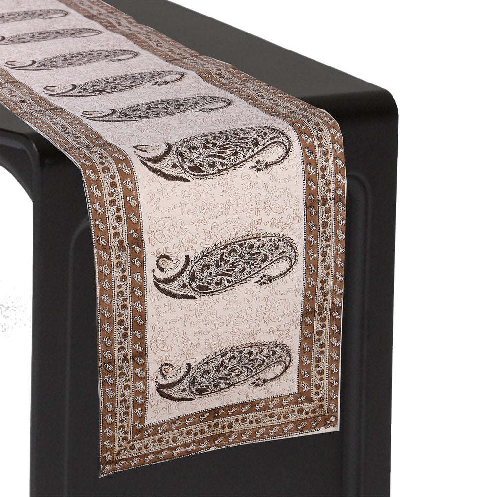 Jaipuri Cotton Table Runner - 12