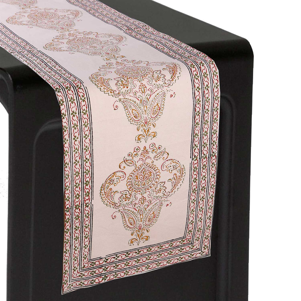 Jaipuri Cotton Table Runner - 16
